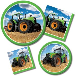 5 hängende Girlanden Traktor Party – Bild 2