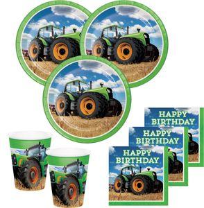 8 Einladungskarten Traktor Party – Bild 2