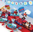 8 Teller Eisenbahn Party