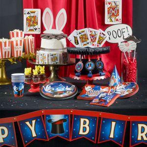32 Teile Magier und Zauberer Geburtstags Deko Set 8 Personen – Bild 5