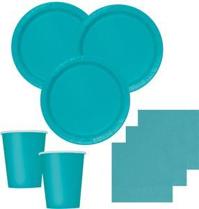 8 Teller Karibik Blau  – Bild 2