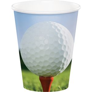 8 Becher Golf Party