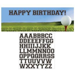 XXL Banner Golf Party