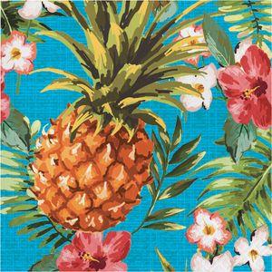 16 Servietten Ananas Party