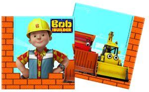 20 Servietten Bob der Baumeister