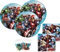 6 Mighty Avengers Power Einladungskarten