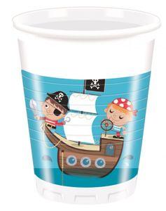 36 Teile Piraten Kinder Party Deko Set 8 Kinder – Bild 3