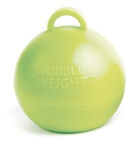 Ballongewicht Bubble Limonen Grün