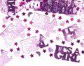 XXL 67 Teile Baby Shower Deko Set Rosa Storch 16 Personen - Bonbon Rosa