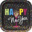 48 Teile Silvester und Neujahrs Deko Set 16 Personen - Silvester Confetti