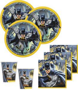 8 Batman Einladungskarten – Bild 2