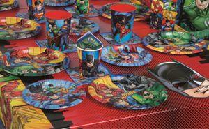 48 Teile Justice League Superhelden Party Deko Basis Set - für 16 Kinder – Bild 5