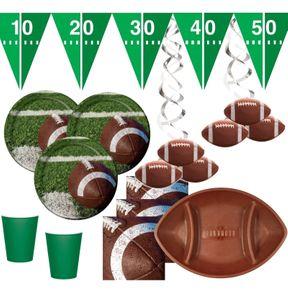 XXL 38 Teile American Football Superbowl Party Deko Set für 8 Personen – Bild 1