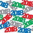 XXL 46 Teile Abi Examen 2018 Party Deko Bunte Feier für 8 Personen