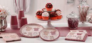16 Servietten Baby Party Pastell Rosa – Bild 3