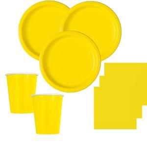 Tischdecke Neon Gelb