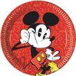 8 Teller Micky Maus Retro