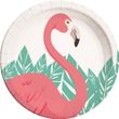 36 Teile Flamingo Party Deko Basis Set - für 8 Personen