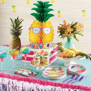 8 kleine Teller Ananas und Freunde – Bild 3