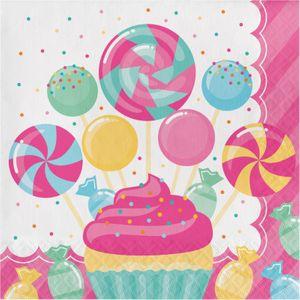 48 Teile Party Deko Set Rosa Lollie Candybar für 16 Personen – Bild 3