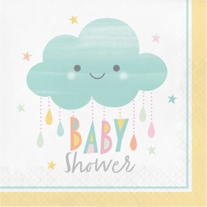 48 Teile Sunshine Babyshower Party Deko Set für 16 Personen – Bild 4