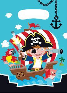 8 Party Tüten Piraten Abenteuer – Bild 1