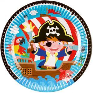 36 Teile Piraten Abenteuer Party Deko Set 8 Kinder – Bild 2