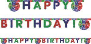 Geburtstags Girlande PJ Masks Pyjamahelden – Bild 1
