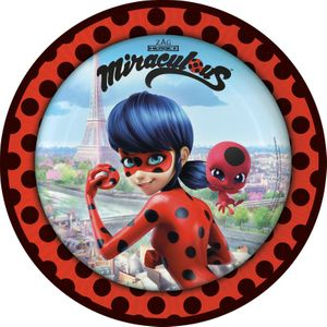 36 Teile Miraculous Ladybug und Cat Noir Party Deko Set 8 Kinder – Bild 2