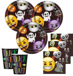 8 Teller Emoji Halloween – Bild 2