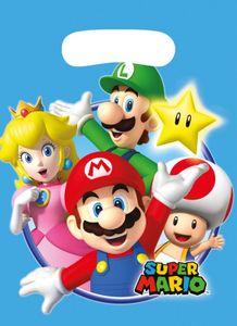 XXL 56 Teile Super Mario Party Deko Basis Set für 8 Kinder – Bild 5