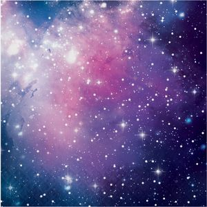 16 Servietten Galaxy Party – Bild 1