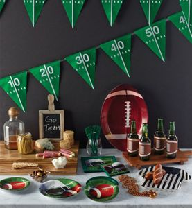 Football Superbowl Tablett Schiedsrichter Tricot 1B Ware