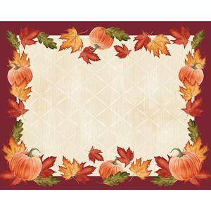 12 Tischsets Herbstlaub