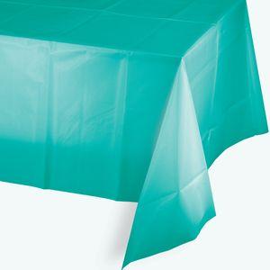 Plastik Tischdecke Lagunen Blau