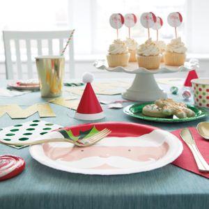 8 weihnachtliche Papp Becher Nikolaus – Bild 3