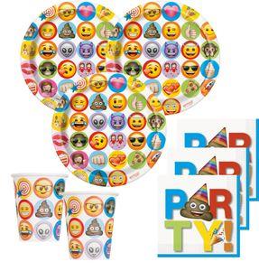 8 Papp Teller Emoji Fun – Bild 2