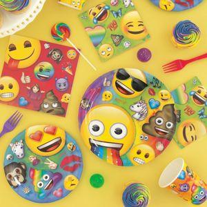 8 Papp Becher Emoji Fun – Bild 3