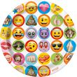 32 Teile Emoji Fun Party Deko Set für 8 Personen