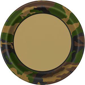 8 Papp Teller Camouflage