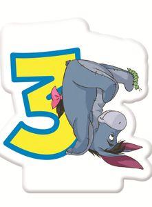 Winnie Puuh Zahlenkerze 3
