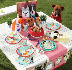 8 Papp Becher Hunde Party – Bild 3