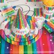 16 Servietten Regenbogen Geburtstag