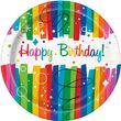 32 Teile Party Deko Set Regenbogen Geburtstag für 8 Personen