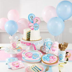 Folien Ballon Babyparty Schleife oder Schlips? – Bild 3