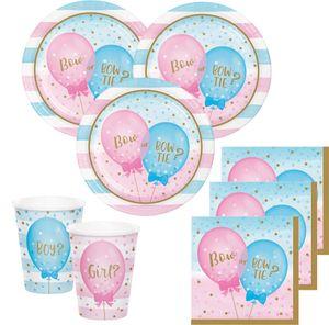 10 Papier Tütchen Babyparty Schleife oder Schlips? – Bild 2