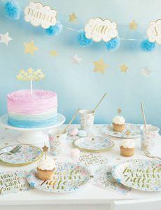 48 Teile Twinkle twinkle little Star Party Deko Set foliert für 16 Personen – Bild 5