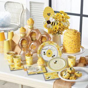 16 Servietten Bienchen Party Sweet as Bee can – Bild 4