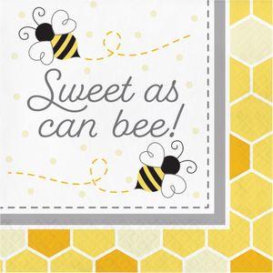 32 Teile Bienchen Sommer Garten Party Deko Set für 8 Personen – Bild 4