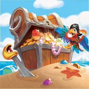 32 Teile Piraten auf der Schatzsuche Party Deko Set für 8 Kinder – Bild 4